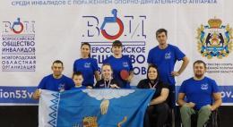 Параспортсмены Псковской области — на пьедестале Всероссийских соревнований по настольному теннису