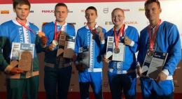 Сборная псковских спасателей забрала серебро в чемпионате «Молодые профессионалы»
