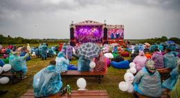Праздничный концерт в честь 1000-летия Усвят прошёл в посёлке