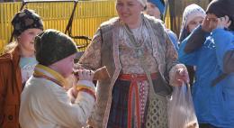 Дети из районов приняли участие в мероприятии «Русь изначальная»