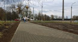 На Крестовском шоссе в Пскове отремонтирован тротуар