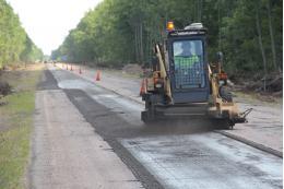 На дороге Шимск - Феофилова Пустынь начался ремонт по дорожному нацпроекту