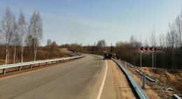 Барьерное ограждение установили в регионе по «дорожному нацпроекту»