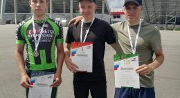 Псковичи заняли призовые места на всероссийских соревнованиях по велосипедному спорту