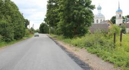 В Печорском районе идет поэтапное асфальтирование объектов «дорожного» нацпроекта