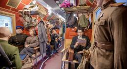 Более двух тысяч человек посетили «Поезд Победы»