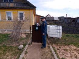 Сотрудники МЧС провели профилактический рейд в Дновском районе