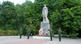 77-ю годовщину освобождения от немецко-фашистских захватчиков отмечет Островской район