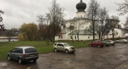 Около Ольгинской гостиницы и на других участках ул. Променской начался ремонт дорожного покрытия