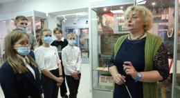 Юнармейцы посетили музей УМВД России