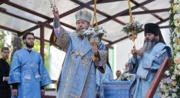 Престольный праздник – Успение Пресвятой Богородицы – встретили в Псково-Печерском монастыре