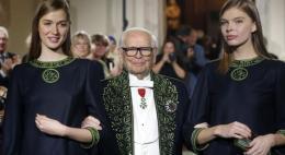Скончался французский модельер Пьер Карден