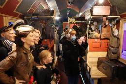 Поезд Победы прибыл в Великие Луки