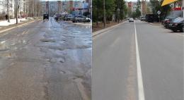 Ремонт улицы Алтаева завершился в Пскове