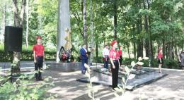 77-летие освобождения от немецко-фашистских захватчиков празднуют Псковский и Палкинский районы