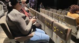 В Псковском театре драмы прошел второй спектакль для слабовидящих зрителей