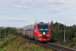 С 1 октября планируется возобновить движение поездов по маршруту Великие Луки - Себеж