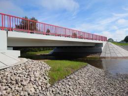 Отремонтирован  мост через реку Кобылицу в Дедовичском районе