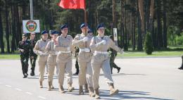В Пскове проходит региональный cлет юнармейцев