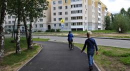 В Пскове завершили ремонт улицы Алтаева