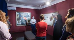 Выставка изобразительного искусства, посвященная Александру Невскому, открылась в Печорах