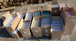 530 пачек контрабандных сигарет пытался провезти вЛатвиюпомощник машиниста локомотива