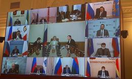 Заседание координационного штаба борьбе с распространением коронавирусной инфекции на территории СЗФО