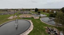 Обновление очистных сооружений продолжается в Пскове по программе приграничного сотрудничества