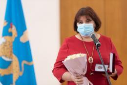 Специалистам региона вручили нагрудные знаки к званию «Заслуженный педагогический работник Псковской области»